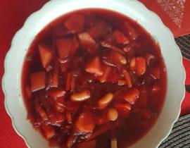 Przepis na zupę z buraków, czyli barszcz czerwony trochę inaczej
