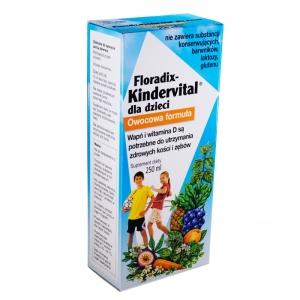 syropy dla dzieci floradix