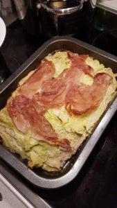 lasagne z włoską kapustą